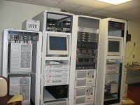 The current Physics server room