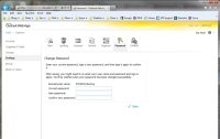 Webmail Password Page - Click To Enlarge