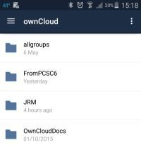 OwnCloud Android App - Click To Enlarge